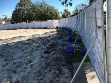 Temporary Hoarding Fence Hire In Alkimos And Perth